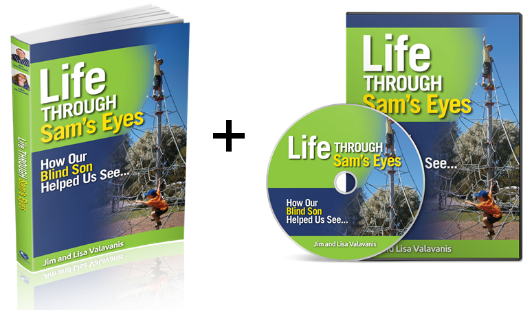 Life Through Sam's Eyes Book & Audiobook (Physical Pack)