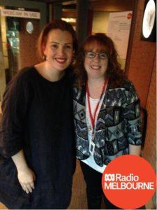 Lisa & Clare (ABC Radio Melbourne) June 2017