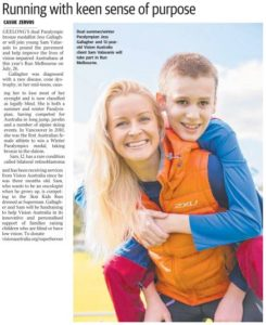 Sam and Jess - Geelong Advertiser (06-07-2015)