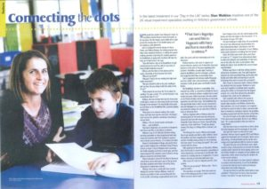 Sam in AEU News Magazine (September 2013)