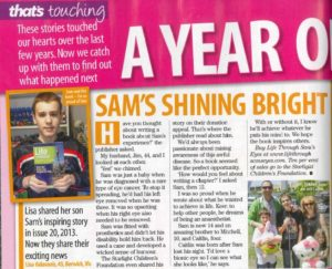 That's Life - Sam's Shining Bright (8-12-16)