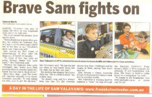 The Leader - Brave Sam fights on (16-06-08)